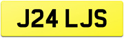 Quality Rare Double Digit Personalised Private Reg Number Plate J24 Ljs / Lj Ls