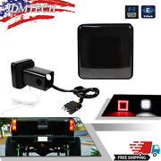 2 Led Super Bright Brake Backup Light Trailer Hitch Cover For Towing And Hauling
