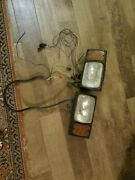 Meyer Snow Plow Lights Jeep Chevy 4x4 Square Body K30 Used Vintage Lqqk