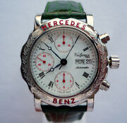 Mercedes Benz Classic Car Accessory Luxury Lifestyle Automatic Chronograph Watch