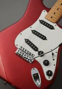 Fender 1980 Stratocaster Candy Apple Red ≒ 4.40kg Used Electric Guitar