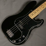 Fender Vintage 1976 Precision Bass Black Used Electric Bass