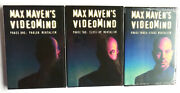 Max Maven's Videomind Volumes 1-3 New Sealed Dvds