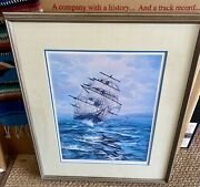 Rare Violet Parkhurst Leading The Way Artist Proof 8/50 Hand Signed 33x26.5