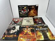 Official Strategy Guide Lot Of 8 Brady Games Prima Strategy Guides