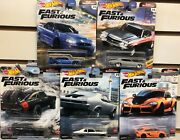 New Hot Wheels Premium Fast And Furious Fast Superstars - You Choose
