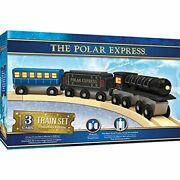 Masterpieces The Polar Express Real Wood Toy Train Set Assorted