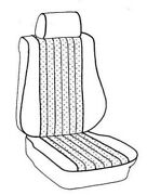 Mercedes 126 1981-1984 Rear Bucket Seat Upholstery Coupe Incl Armrest