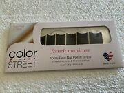 Color Street - Gotham Night - Nail Polish Strips - Brand New And Sealed