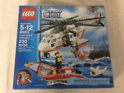 Lego 60013 Coast Guard Helicopter 2013 With Box And Instructions