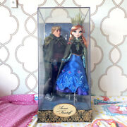 Disney Designer Doll Collection Anna And Kristoff Frozen Limited Edition Fairytale
