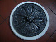Superb Antique Kendrick And Sons Cast Iron Decorative Air Vent And Frame