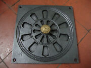 Smart Antique Brass And Iron Air Vent 9 Square