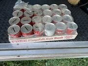 Lot Of 24 - 125th Anniversary Campbell's Tomato Soup Coin Metal Bank Advertising