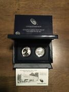 2013 United States Mint American Silver Eagle West Point Two 2 Coin Silver Set