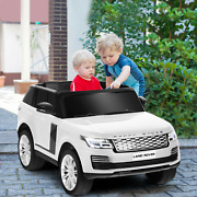 24v 2-seater Licensed Land Rover Kids Ride On Car With 4wd Remote Control