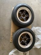 Weld Racing Rt-s S71 Forged Aluminum Polished Rear Wheels 17x10.5 Used