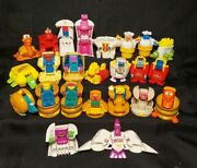 Vintage 1987 Mcdonaldand039s Changeables Transformers Happy Meal 22 Different Figure