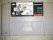 Chrono Trigger Snes Authentic Good Condition Pre-owned