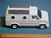 Vintage Revell Pepsi Team Skateboard Van Completed , From 1978 Ready For Decals