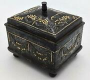 Russian Tula Steel And Parcel Gilt Box / Sewing Box C1800