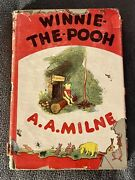 A A Milne And039winnie The Poohand039 1950 Vintage Hardcover W/ Dust Jacket