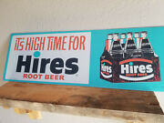Hires Root Beer Signs Made In Usa Vintage Style Display Advertising
