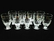 Lot Of 9 Waterford Crystal Replacement Curraghmore Juice Glasses