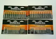 Duracell Coppertop Batteries 4 24 Count Packs 48 Aa And 48 Aaa Expire 2030