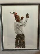 Lee Teter The Dancer Hand-colored, Signed, Numbered 14/200