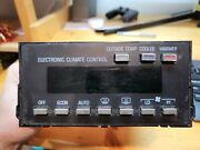 1990-1992 Cadillac Brougham Electronic Climate Heater Control Module 16154876