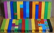 Large Lot Of 300 Lego Duplo 2 X 2 Bricks Blocks Assorted Colors As Shown