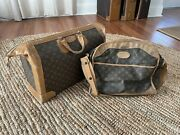 Louis Vuitton Rare French Co Shoe Case Doctor Bag With Accessory Luggage
