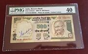 India -reserve Bank 2005 Gandhi Note Signed By Its Governor Pmg 40