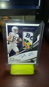 2021 Immaculate Pat Freiermuth Rpa 09/10 Rare Bowl Patch Rc🔥🔥 Steelers Penn St
