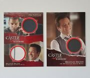 2 Costume Cards Lot 2014 Cryptozoic Castle Season 3 And 4 - Dm2 And M21