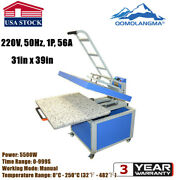 Us Stock 31in X 39in Large Format T-shirt Textile Heat Transfer Press Machine