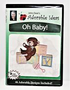 John Deer's Adorable Ideas Machine Embroidery Cd-oh Baby