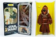 Star Wars Jawa Large Size Action Figure 8 Inch Poseable 1977 Kenner No. 39350