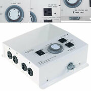 Mlc Hid Light Control Box 50amp 120v 4000w 240v 8000 Watts W/8 Outlet And24h Timer