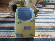 Pfaltzgraff Summer Breeze Cell Phone Charger/holder New