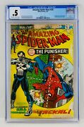 Amazing Spider-man 129 Cgc .5 First Punisher Appearance 1st App Key Grail Asm
