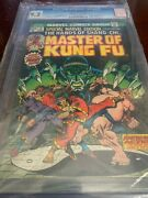 Special Marvel Edition 15 Master Of Kung Fu Cgc 9.2