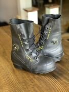 Us Military Bata Mickey Mouse Boots Black W/ Valve Size 5r Extreme Cold