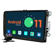 Cam+ Android 11 Auto 9 Ips Car Play Stereo Gps Radio For Vw Jetta Passat Rns510