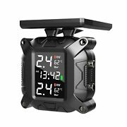 Tire Pressure Monitoring System Tpms For Motorcycles Solar Wireless Charging