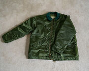 Military Alpha Industries Extreme Cold Weather Impermeable Jacket Size Large