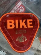 Vintage Motorcycle Bicycle Taillight And Reflectors Rat Rod Auto Vfw