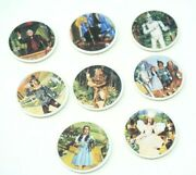 Knowles Wizard Of Oz Plate Set Of 8 Plates By James Auckland Miniature