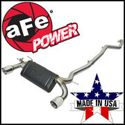 Afe Mach Force-xp 3 To 2.5 Cat-back Exhaust System Fits 2016-20 Bmw 340i 440i